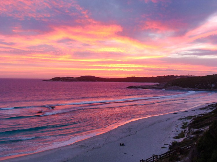 West Beach sunset, Esperance