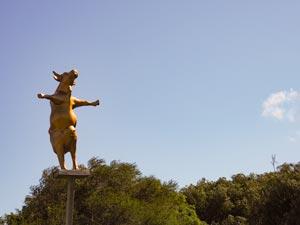 Cowaramup cow statue